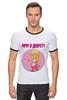 """Футболка Рингер """"Хочу в декрет!"""" - baby, беременность, футболки для беременных, футболки для беременных купить, принты для беременных, pregnant"""