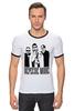 """Футболка """"Рингер"""" (Мужская) """"Depeche Mode"""" - depeche mode, депеш мод"""