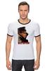 """Футболка Рингер """"Женская футболка с Путиным"""" - путин, putin, все путем, одежда с путиным"""