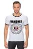 "Футболка ""Рингер"" (Мужская) ""Ramones "" - punk, ramones, рамоунз"