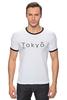 """Футболка """"Рингер"""" (Мужская) """"Tokyo 2"""" - аниме, япония, токио, tokyo"""
