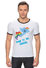"Футболка Рингер ""Born to be cooler"" - rainbow dash, my little pony, friendship is magic, cooler, 20 percent cooler"
