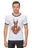 "Футболка Рингер ""фараон"" - dog, олд скул, собака, old school, розы, roses, дог, tm kiseleva, фараонова собока"
