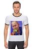 "Футболка Рингер ""Путин"" - москва, россия, сочи, путин, кремль"