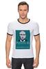 "Футболка Рингер ""Владимир Владимирович Путин 2"" - арт, владимир, политика, путин, putin"
