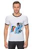 "Футболка Рингер ""BattleFriend 3: Assault Dash"" - игра, pony, mlp, пони, battlefield 3"