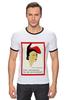 """Футболка Рингер """"Elsa Schiaparelli"""" - арт, fashion, модельер, elsa schiaparelli, эльза скиапарелли, прет-а-порте"""