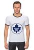 """Футболка Рингер """"Торонто Мэйпл Лифс """" - хоккей, nhl, нхл, toronto maple leafs, торонто мэйпл лифс"""