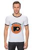 """Футболка Рингер """"Philadelphia Flyers"""" - хоккей, nhl, нхл, филадельфия флайерз, philadelphia flyers"""