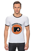 "Футболка ""Рингер"" (Мужская) ""Philadelphia Flyers"" - хоккей, nhl, нхл, филадельфия флайерз, philadelphia flyers"