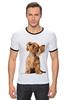 "Футболка Рингер ""music"" - cute, puppy"