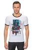 "Футболка Рингер ""Мстители / Avengers"" - мстители, avengers, капитан америка, тор, kinoart"