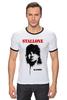 "Футболка Рингер ""Sylvester Stallone"" - актёр, рэмбо, сильвестр сталлоне, rambo, sylvester stallone"