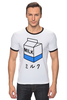 """Футболка """"Рингер"""" (Мужская) """"milk 1"""" - молоко, аниме, япония, japan, milk"""