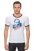 """Футболка """"Рингер"""" (Мужская) """"Путин В. В."""" - путин, putin"""
