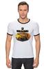 "Футболка Рингер ""World Of Tanks"" - игра, game, world of tanks, танки, wot"