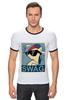 "Футболка ""Рингер"" (Мужская) ""Пони SWAG"" - style, pony, mlp, swag"