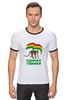 """Футболка """"Рингер"""" (Мужская) """"Единая Гвинея"""" - смешно, политика, прикольные футболки, пжив"""