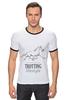 "Футболка Рингер ""TROTTING LIFESTYLE"" - лошадь, horse, рысак"