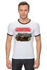 """Футболка """"Рингер"""" (Мужская) """"Armored Warfare"""" - игра, game, танки, aw, armored warfare"""