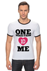 "Футболка Рингер ""One Direction"" - one direction, бой-бэнд"