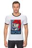 """Футболка Рингер """"Wow Doge"""" - мем, wow, doge, собакен"""