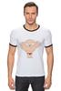"""Футболка Рингер """"Стьюи"""" - арт, мультфильм, мульт, стьюи, family guy, гриффины, stewie griffin"""