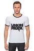 "Футболка ""Рингер"" (Мужская) ""Linkin Park logo"""