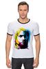"Футболка Рингер ""Nirvana Kurt Cobain "" - nirvana, рок, kurt cobain, курт кобейн, нирвана"