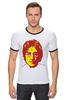 """Футболка Рингер """"Джон Леннон"""" - битлы, битлз, джон леннон"""