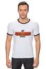 "Футболка Рингер ""Anaheim Ducks"" - хоккей, nhl, нхл, anaheim ducks, анахайм дагз"