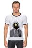 "Футболка ""Рингер"" (Мужская) ""Art"" - hoodie, idea"