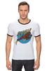 """Футболка Рингер """"Флэш."""" - flash, комикс, герой, дс, флэш"""
