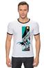 """Футболка Рингер """"CitySwag Batman"""" - комикс, batman, бэтмен, супергерой, dc"""