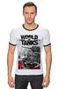 "Футболка ""Рингер"" (Мужская) ""World of Tanks"" - игры, world of tanks, танки, wot"