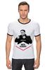 "Футболка Рингер ""DMITRI ALENICHEV by DESIGN MINISTRY"" - москва, спартак, fcsm, spartak, фксм"