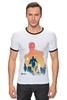 """Футболка Рингер """"Iron Man"""" - marvel, железный человек, iron man"""