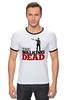 "Футболка ""Рингер"" (Мужская) ""The Walking Dead"" - зомби, ходячие мертвецы, the walking dead, рик граймс, rick grimes"