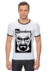 "Футболка ""Рингер"" (Мужская) ""Heisenberg (Breaking Bad)"" - во все тяжкие, breaking bad, heisenberg"