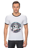 "Футболка ""Рингер"" (Мужская) ""Anaheim Ducks"" - 3d, хоккей, nhl, нхл, anaheim ducks"