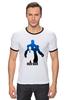 "Футболка Рингер ""железный человек"" - железный человек, iron man"