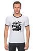 """Футболка Рингер """"Daft Punk """" - французский, daft punk, дафт панк, томасом бангальтером"""