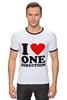 """Футболка """"Рингер"""" (Мужская) """"One Direction"""" - one direction"""