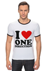 "Футболка Рингер ""One Direction"" - one direction"