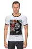 "Футболка Рингер ""че гевара"" - che, cuba, guevara, революционер, кубинская революция"