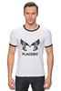 "Футболка Рингер ""Placebo (Wings)"" - wings, placebo, brian molko, брайан молко"