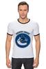 """Футболка Рингер """"Ванкувер Кэнакс """" - хоккей, nhl, нхл, vancouver canucks, ванкувер кэнакс"""