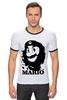 """Футболка Рингер """"Mario x Che """" - че гевара, mario, марио, che guevara"""