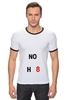"Футболка ""Рингер"" (Мужская) ""NOH8"" - noh8, lgbt, протест"