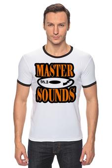 "Футболка Рингер ""Master Sounds 98.3"" - gta, radio, san andreas, master sounds"